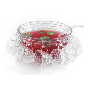 Irena 18 Piece Punch Bowl Set by Latitude Run Savings