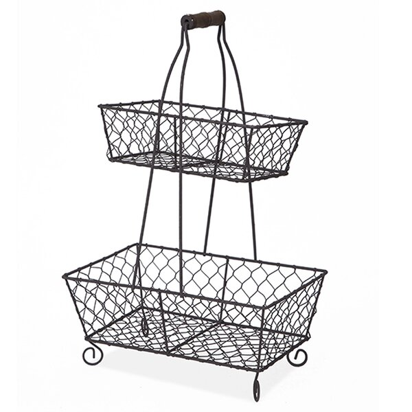 Two Tier Basket Wayfair