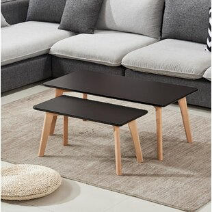 Brayton 2 Piece Coffee Table Set by George Oliver Amazing