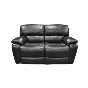 Malley Leather Reclining Loveseat by Wins..