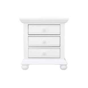 Kailyn 3 Drawer Nightstand