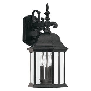 Castellanos 3-Light Outdoor Wall Lantern