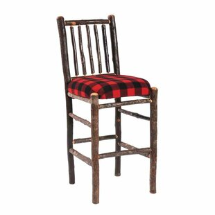 Check Prices Hickory 30 Bar Stool by Fireside Lodge Reviews (2019) & Buyer's Guide