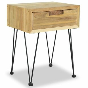 Glenview Bedside Table By Borough Wharf