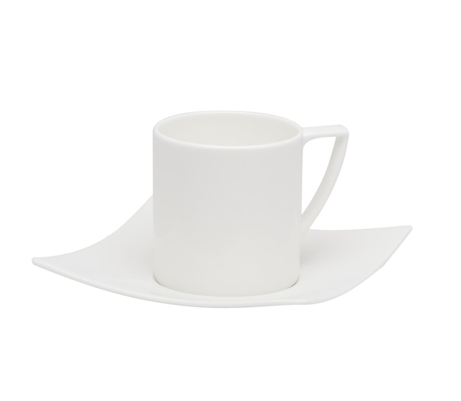 Extreme 8 Oz Coffee Cup And Saucer