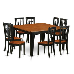 Pilning Contemporary 9 Piece Dining Set August Grove