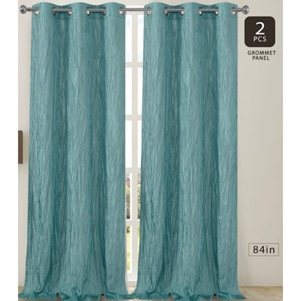 Lace Curtains And How To Clean Them Properly Crushed Silk Curtains | Wayfair