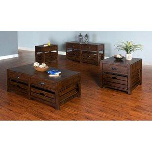 Gracie Oaks Wilfried 4 Piece Coffee Table Set