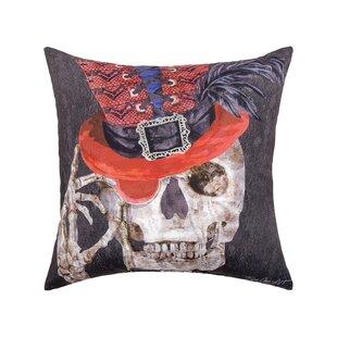 Fergerson Skullastic Indoor/Outdoor Throw Pillow