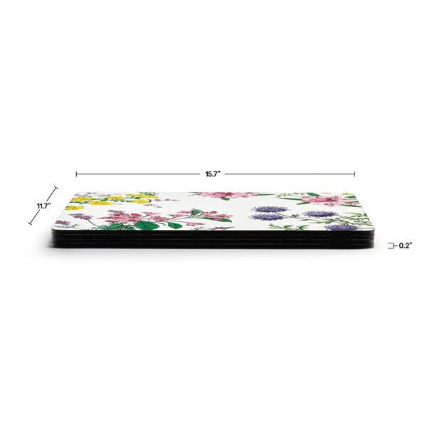 Pimpernel Stafford Blooms Placemats Set Of 4 Wayfair