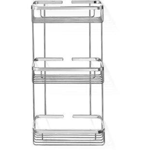 Symple Stuff Knopf Shower Caddy Triple Shelf Organizer