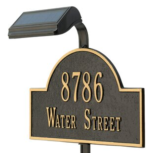 Whitehall Products Solar Flood Light