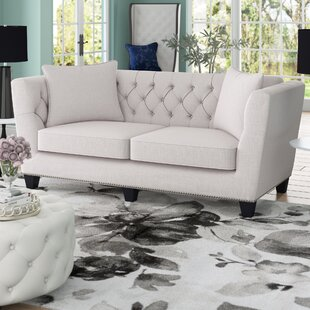 Great Price Fuller Chesterfield Sofa by Willa Arlo Interiors Reviews (2019) & Buyer's Guide
