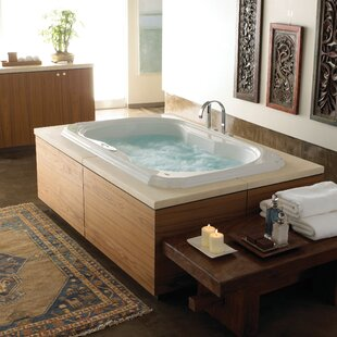 "Bellavista 72"" x 42"" Drop in Whirlpool Bathtub"