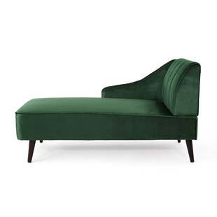 Inexpensive Herbst Chaise Lounge by Wrought Studio Reviews (2019) & Buyer's Guide