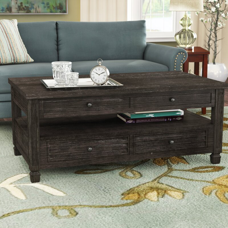 Alcott Hill Massimo Lift Top Coffee Table With Storage Reviews Wayfair