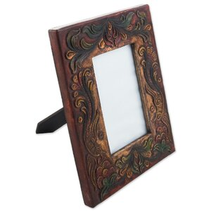 Dartington Leather and Wood Picture Frame