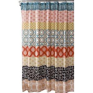 brown and black shower curtain. Bradlo Stripe Shower Curtain Black Curtains You ll Love  Wayfair