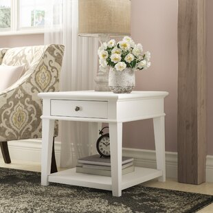 Saguenay End Table by Lark Manor