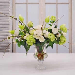 Mixed Floral Arrangement in Vase