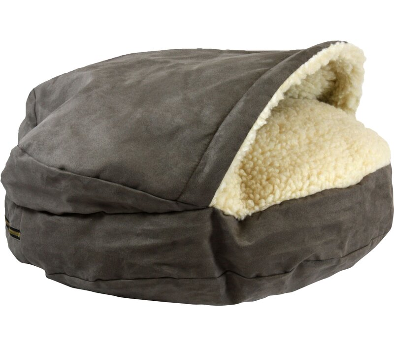 Tremendous Jessa Hooded Pet Bed Squirreltailoven Fun Painted Chair Ideas Images Squirreltailovenorg