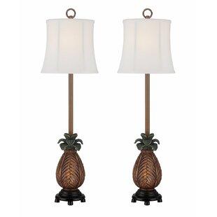 Duke Pineapple 32 Table Lamp (Set of 2)