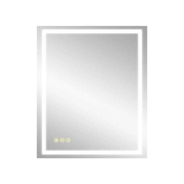 Clear Mirror Glass 3 x 36 Strips Beveled Only on 2 Long Sides