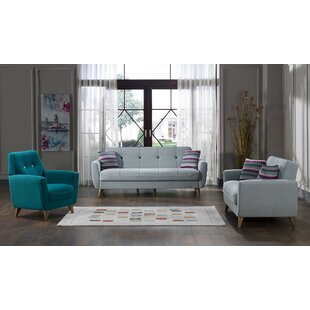 Boylan 3 Piece Living Room Set by Corrigan Studio