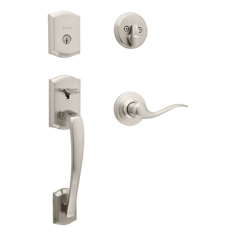 Kwikset Prescott Handleset With Deadbolt And Tustin Door And Rosette Reviews Wayfair