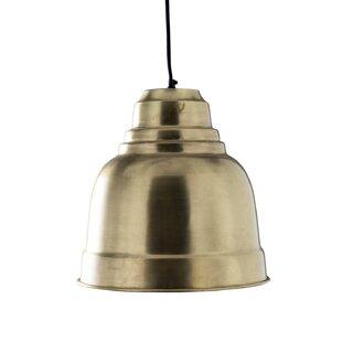 Williston Forge Ilfracombe 1-Light Dome Pendant