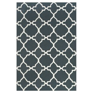 Compare & Buy Cockerham Gray/White Area Rug By Charlton Home