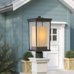 Charlton Home Oakhill 1-Light Oiled Bronze Lantern Head