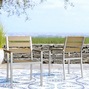 Allen Stacking Patio Dining Chair (Set Of 2)