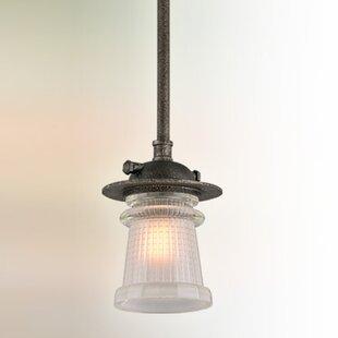 17 Stories Nikky 1-Light Bell Pendant