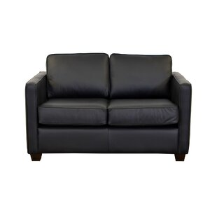 Shop Salisbury Leather Loveseat by Westland and Birch