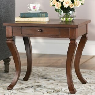 Clarksdale End Table with Storage by Lark Manor