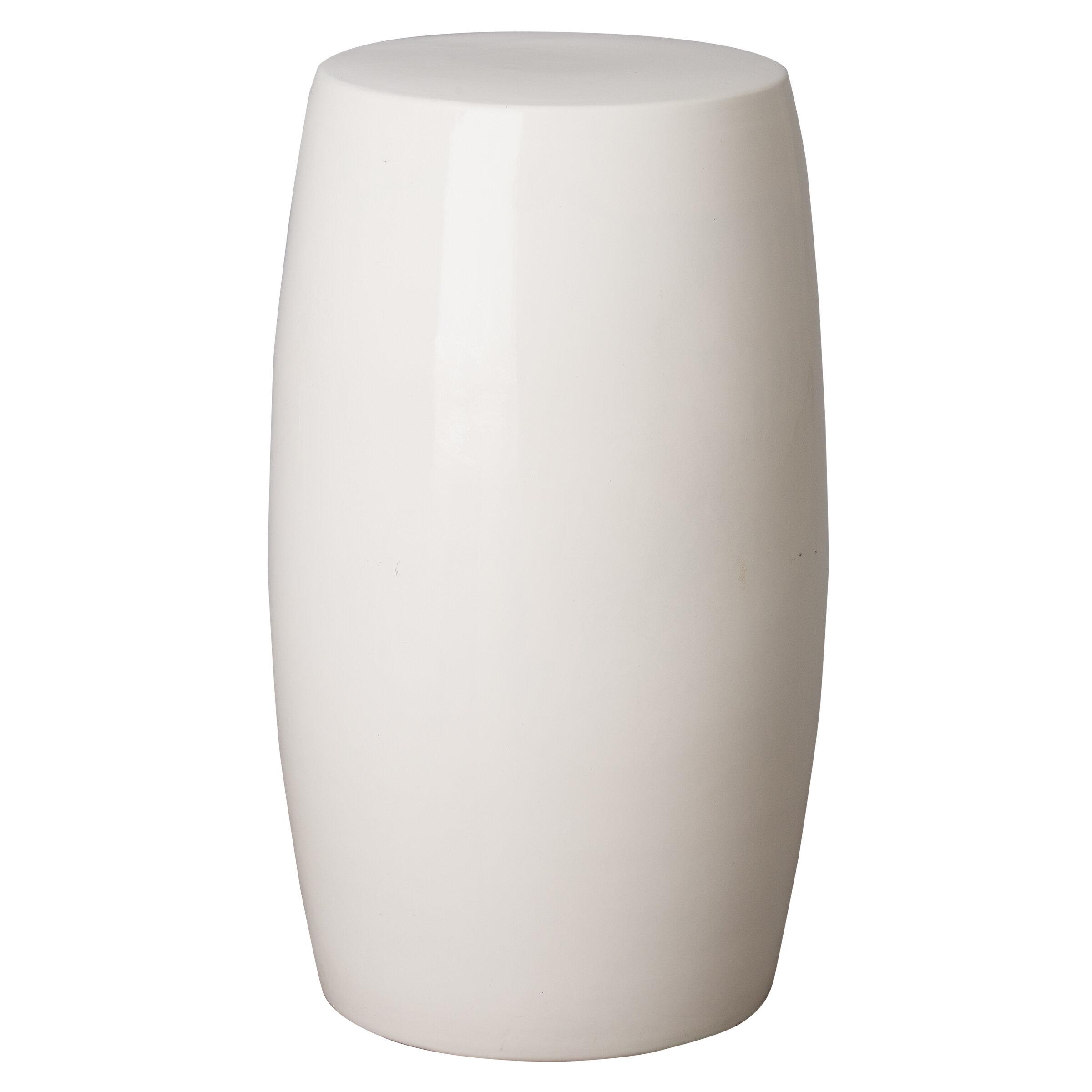 Orren Ellis Honfleur Ceramic Garden Stool Wayfair