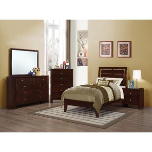 Ebern Designs Novello Panel Bed
