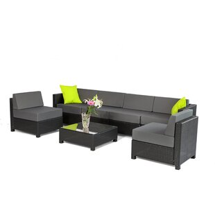 Exacme 7 Piece Sectional Set with Cushions