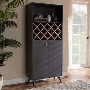 Creasey Bar with Wine Storage by Turn on the Brights