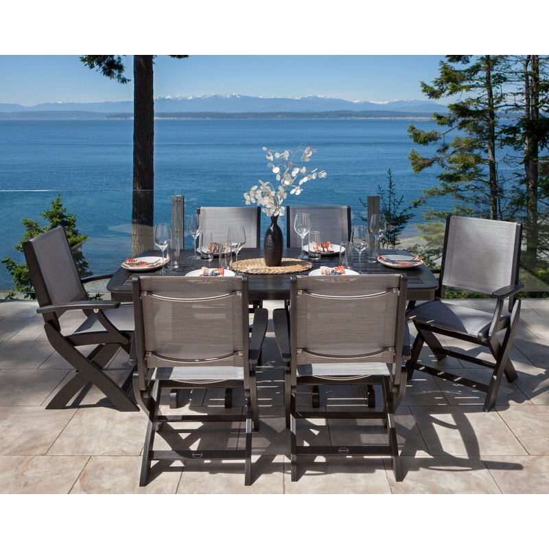 Coastal 7 Piece Dining Set