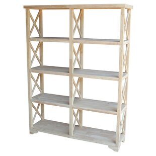 Comparison Gallegos X-Design Etagere Bookcase by Rosecliff Heights