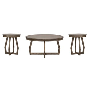 Borea 3 Piece Coffee Table Set