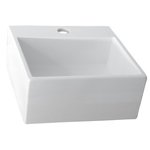 Affordable Price Ceramic Rectangular Vessel Bathroom Sink By Barclay