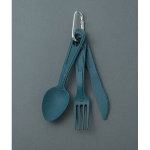 EcoSouLife 3-Piece Flatware Set, Service For 1 (Set Of 2) by Kauri Sale