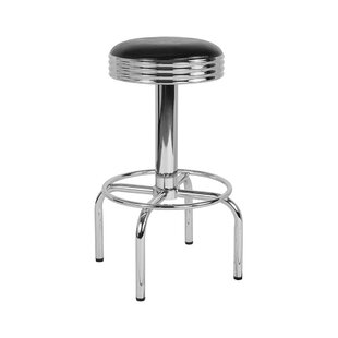 Bustamante 31 Swivel Bar Stool Williston Forge