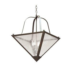 2nd Ave Design Zale 4-Light Bowl Pendant