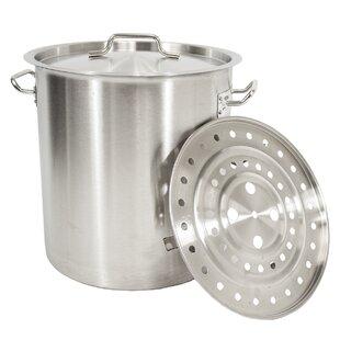 24 qt. Stock Pot with Lid