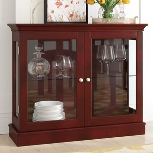 Granborough Floor Standing Curio Cabinet by Charlton Home