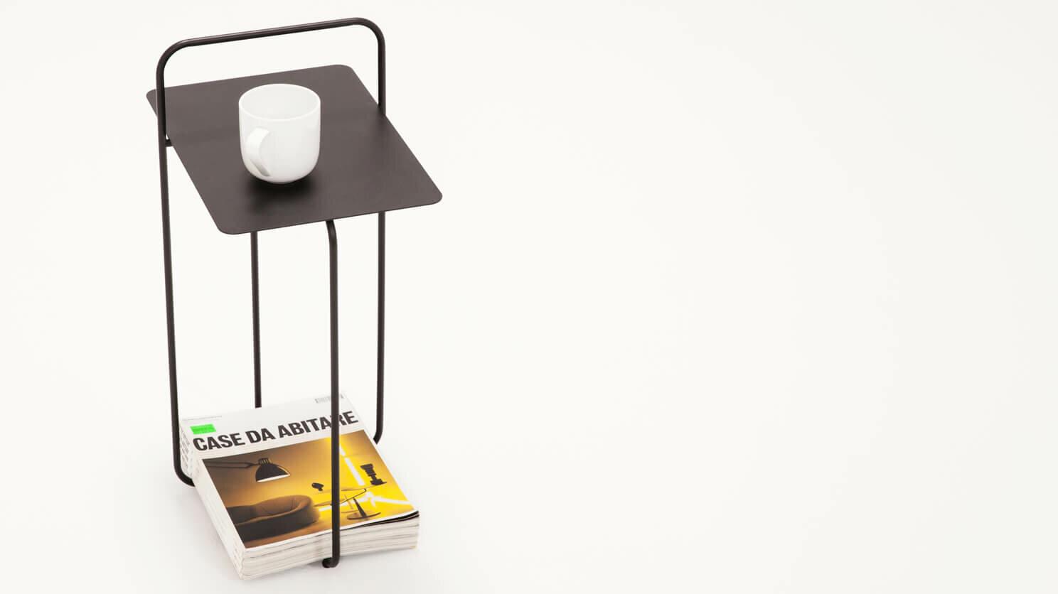 Eq3 Strand Magazine End Table Reviews Wayfair